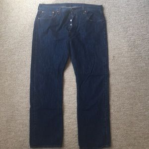 Levi's 501 Button-Fly Jeans, 38x32.  Like New!